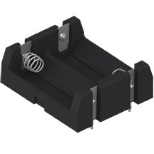 Thru Hole Mount Battery Holders