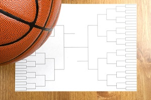 Basketball and brackets