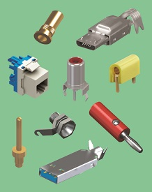 Pins, Plugs, Jacks & Sockets